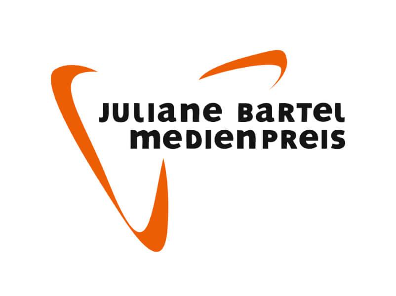 Juliane-Bartel-Medienpreis 2018 Logo ist zu sehen, BOBA hat gefilmt